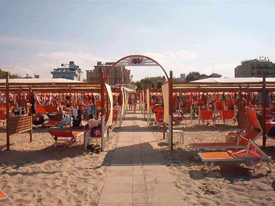 Riccione spiaggia 61 della rosa le immagini - Bagno 61 riccione ...